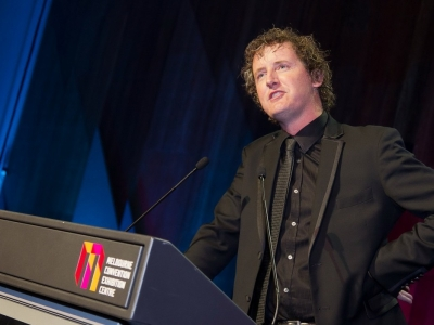MC at the Melbourne Convention & Exhibition Centre